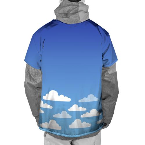 Накидка на куртку 3D  Фото 02, clouds