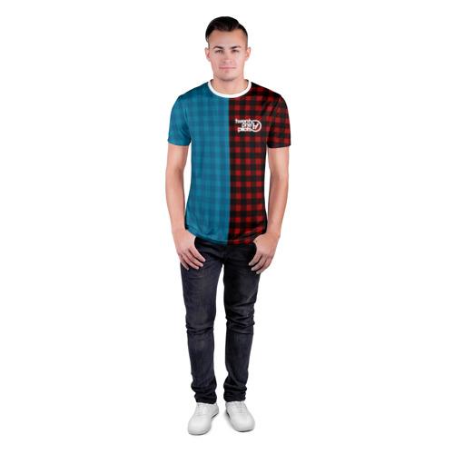 Мужская футболка 3D спортивная  Фото 04, TWENTY ONE PILOTS \ TOP
