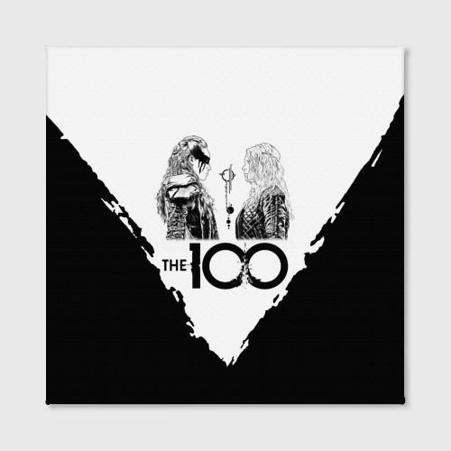 Холст квадратный The 100 Фото 01