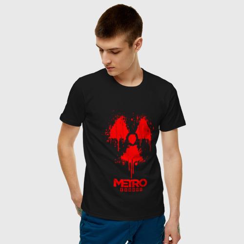 Мужская футболка хлопок Metro Exodus Фото 01