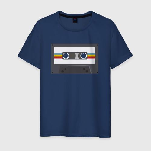 Мужская футболка хлопок Компакт-кассета Фото 01