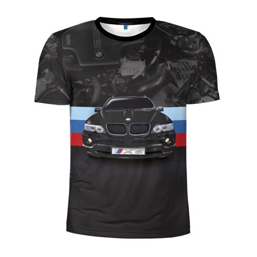 Мужская футболка 3D спортивная  Фото 01, BMW X5