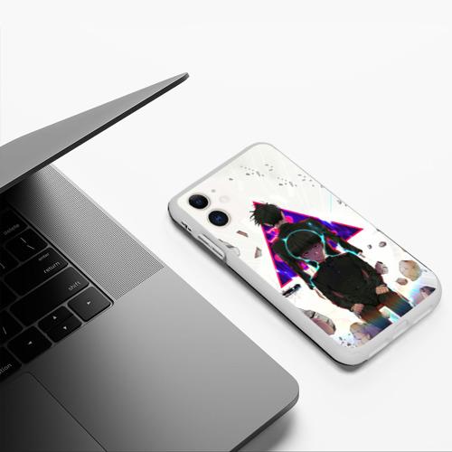 Чехол для iPhone 11 матовый Моб Психо 100 Фото 01