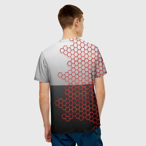Мужская футболка 3D TOYOTA. Фото 01