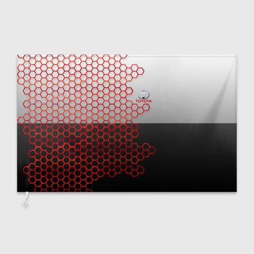 Флаг 3D TOYOTA. Фото 01