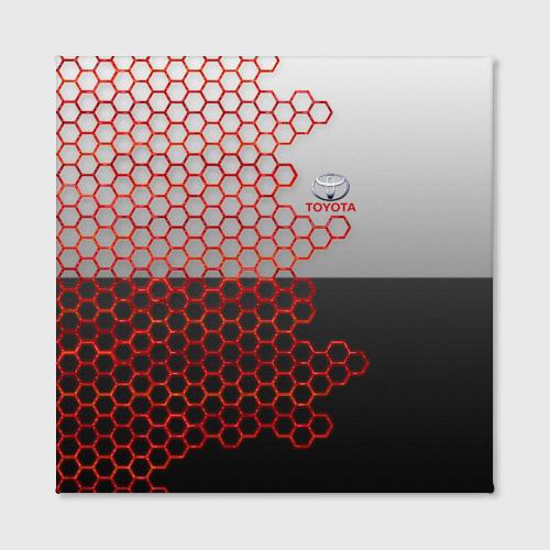 Холст квадратный Toyota brend: Соты Фото 01