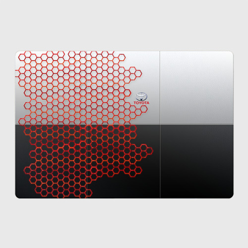 Магнитный плакат 3Х2 Toyota brend: Соты Фото 01