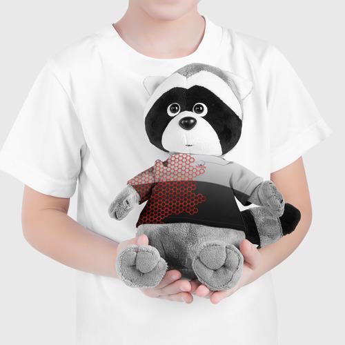 Енотик в футболке 3D TOYOTA. Фото 01