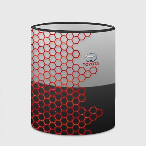 Кружка с полной запечаткой Toyota brend: Соты Фото 01