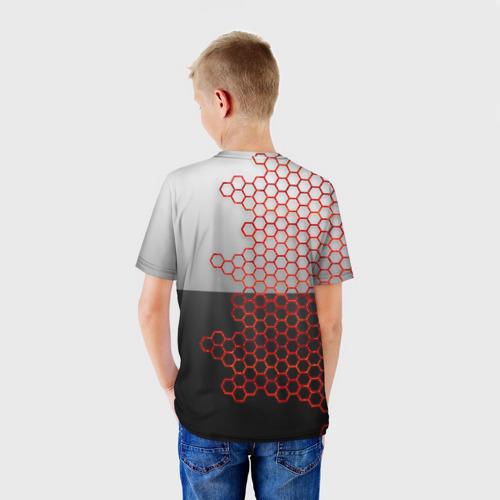 Детская футболка 3D Toyota brend: Соты Фото 01