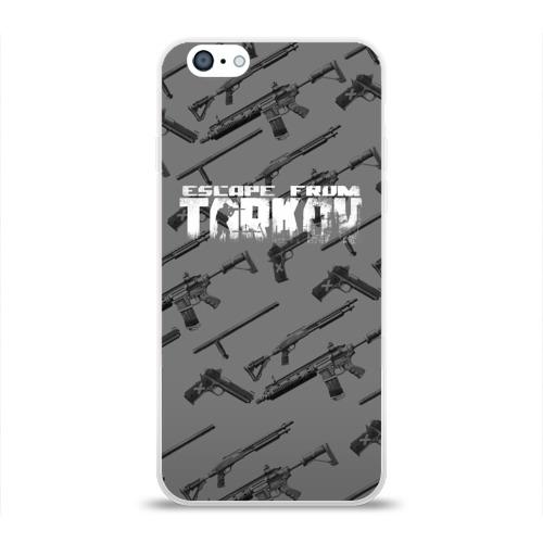 Чехол для Apple iPhone 6 силиконовый глянцевый ESCAPE FROM TARKOV Фото 01
