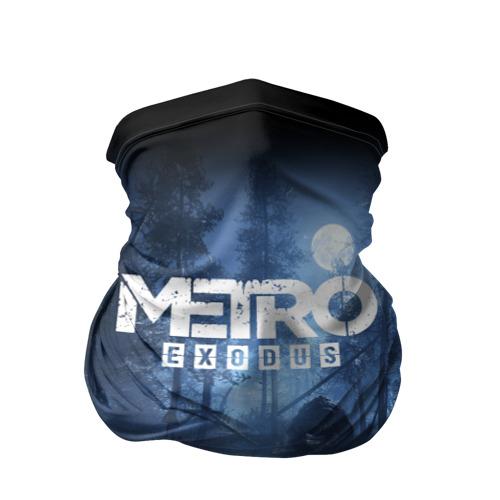 Бандана-труба 3D METRO EXODUS Фото 01