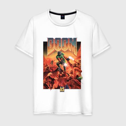 Мужская футболка хлопок DOOM Фото 01