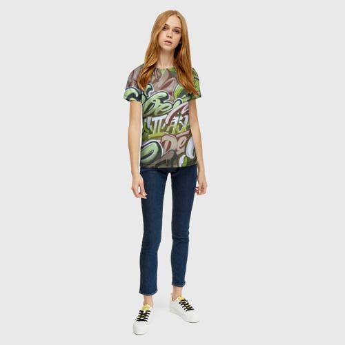 Женская футболка 3D Mixletters Фото 01