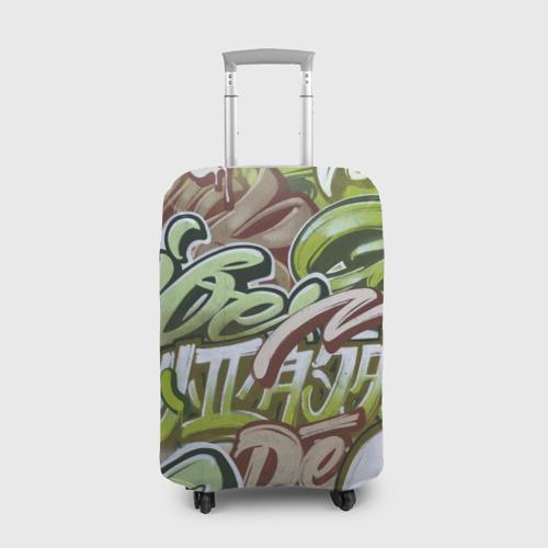 Чехол для чемодана 3D Mixletters Фото 01