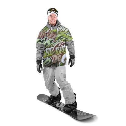 Накидка на куртку 3D  Фото 03, Mixletters