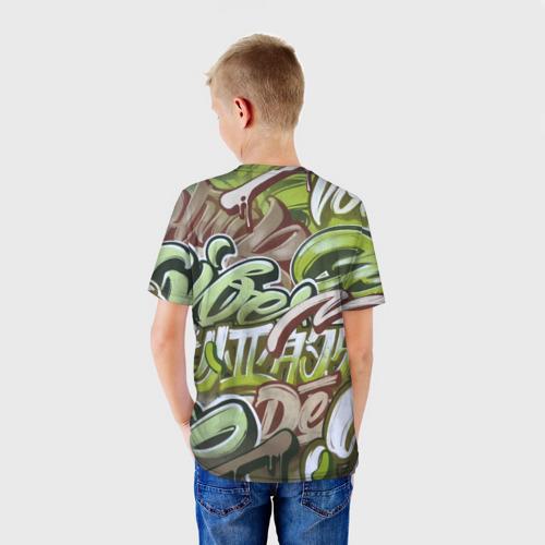 Детская футболка 3D Mixletters Фото 01
