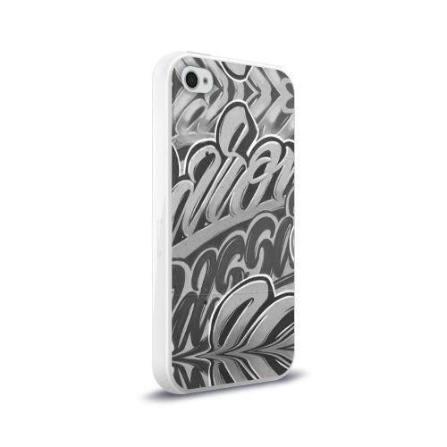 Чехол для Apple iPhone 4/4S силиконовый глянцевый Romolo Milano Фото 01