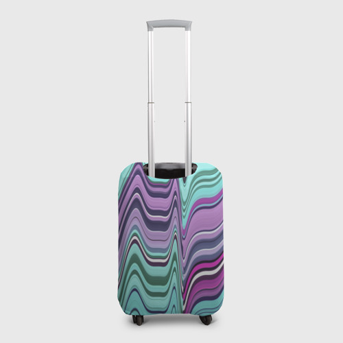 Чехол для чемодана 3D Melted letter Фото 01