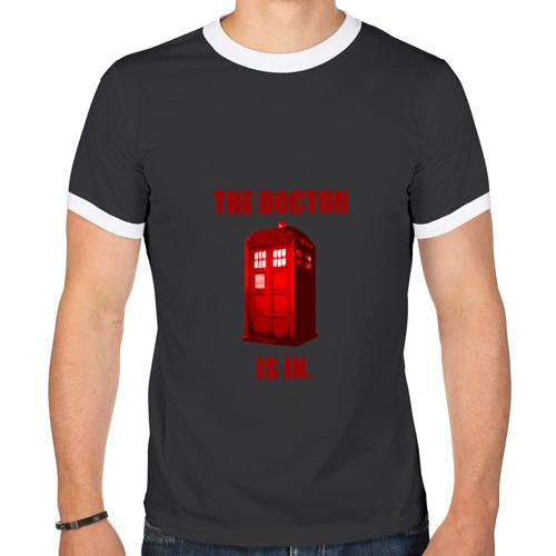 Мужская футболка рингер Doctor Who