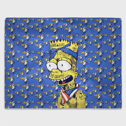 Плед 3D  Фото 03, Simpson