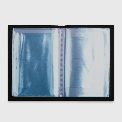 Обложка для автодокументов Glitch letters Фото 01
