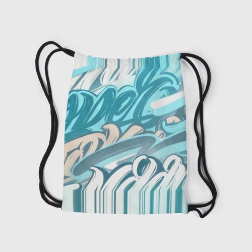 Рюкзак-мешок 3D Glitch letters Фото 01