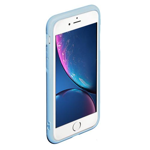 Чехол для iPhone 6Plus/6S Plus матовый Енот и кофе Фото 01