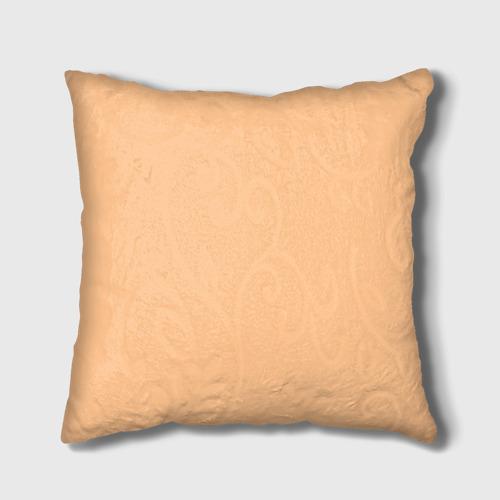 Подушка 3D Енот и кофе Фото 01