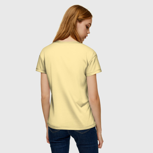 Женская футболка 3D Сова и кофе Фото 01