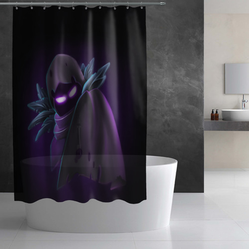 Штора 3D для ванной Fortnite. Nevermore Фото 01
