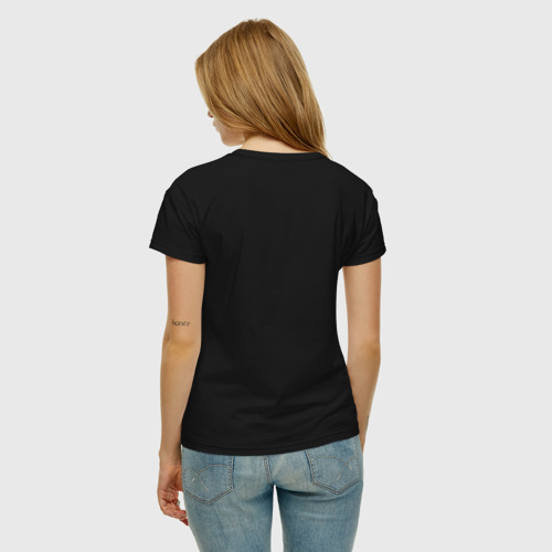 Женская футболка хлопок Кофеин Фото 01