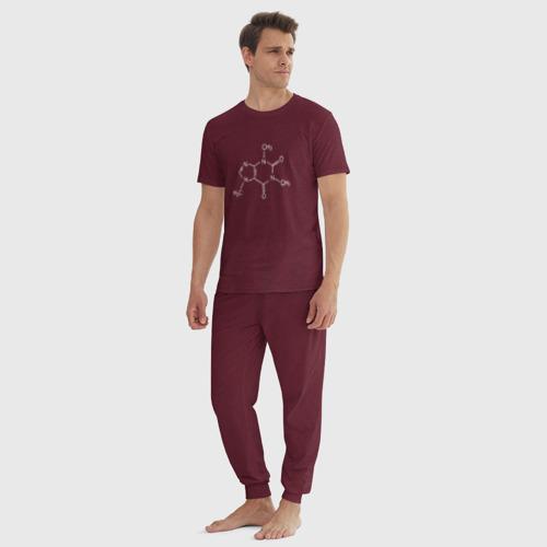 Мужская пижама хлопок Кофеин Фото 01