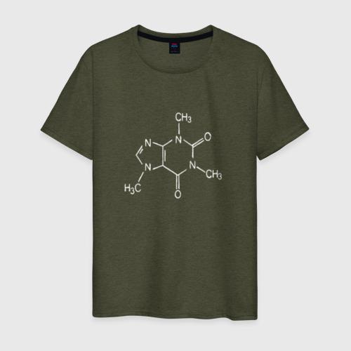 Мужская футболка хлопок Кофеин Фото 01