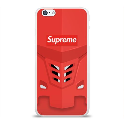 Чехол для Apple iPhone 6Plus/6SPlus силиконовый глянцевый  Фото 01, SUPREME х  Элджей