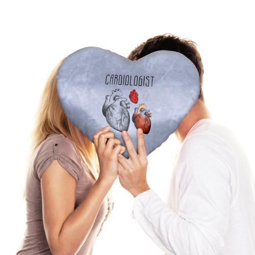 Подушка 3D сердце  Фото 03, кардиолог