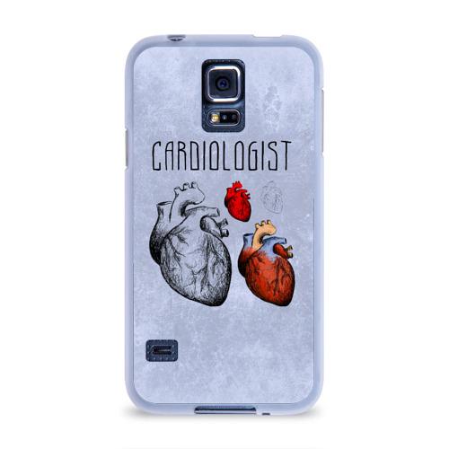 Чехол для Samsung Galaxy S5 силиконовый  Фото 01, кардиолог
