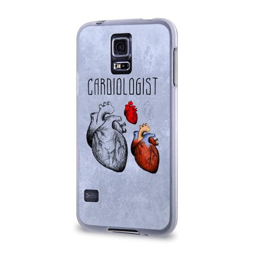 Чехол для Samsung Galaxy S5 силиконовый  Фото 03, кардиолог