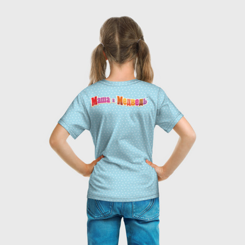 Детская футболка 3D  Фото 04, Маша