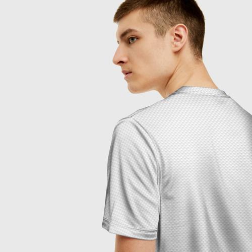 Мужская футболка 3D Валенсия домашняя форма Фото 01