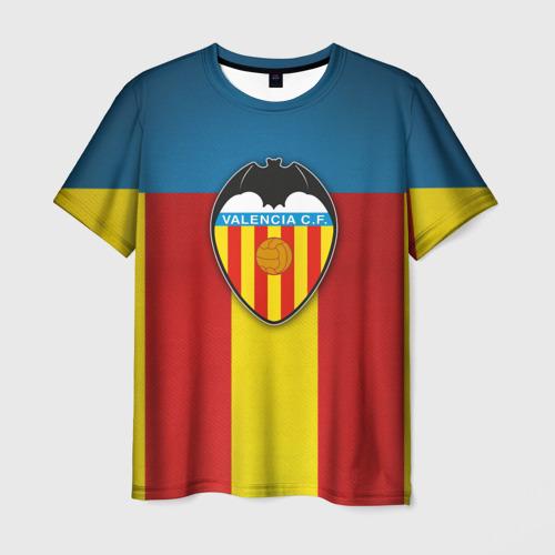 Мужская футболка 3D  Фото 01, Валенсия ФК
