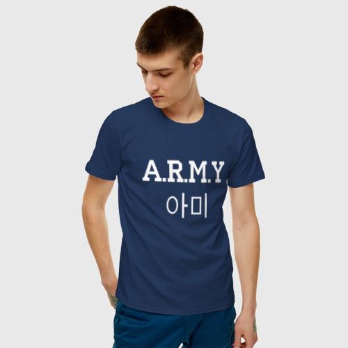 Мужская футболка хлопок A.R.M.Y(BTS) Фото 01