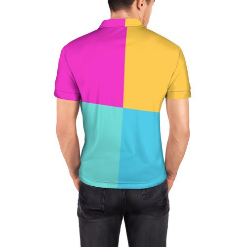 Мужская рубашка поло 3D FORNITE LLAMA Фото 01