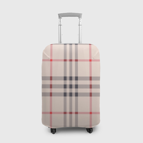 Чехол для чемодана 3D Светлая клетка Фото 01