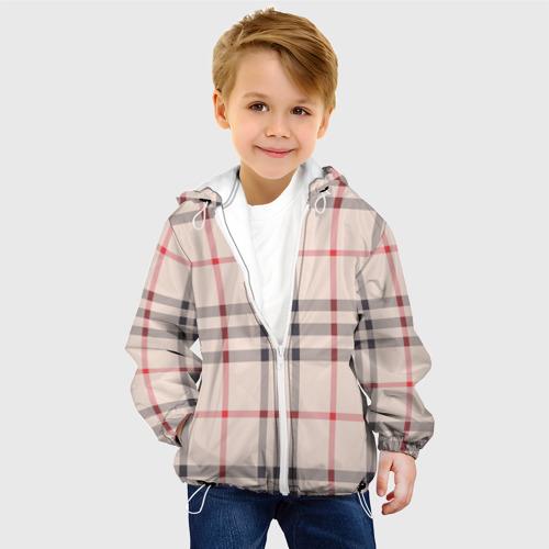 Детская куртка 3D Светлая клетка Фото 01
