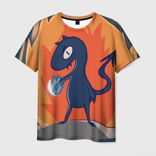 Мужская футболка 3D Люси