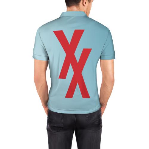 Мужская рубашка поло 3D Machine gun kelly Фото 01