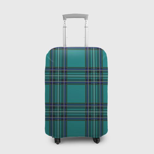 Чехол для чемодана 3D  Фото 01, Зеленая школьная форма