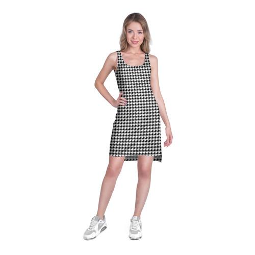Платье-майка 3D  Фото 03, Off-White