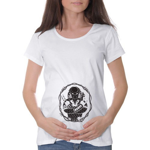 Футболка для беременных хлопок Predator